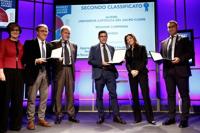 Award secondoclassificato